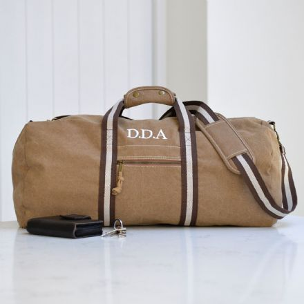 Personalised Vintage Overnight Holdall